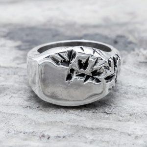 Anello Materia Half Argento