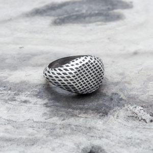 anello Reticolo Tondo